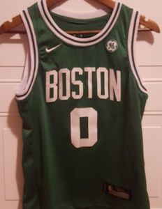 Nike Boston Celtics Jason Tatum Youth Jersey Sz L